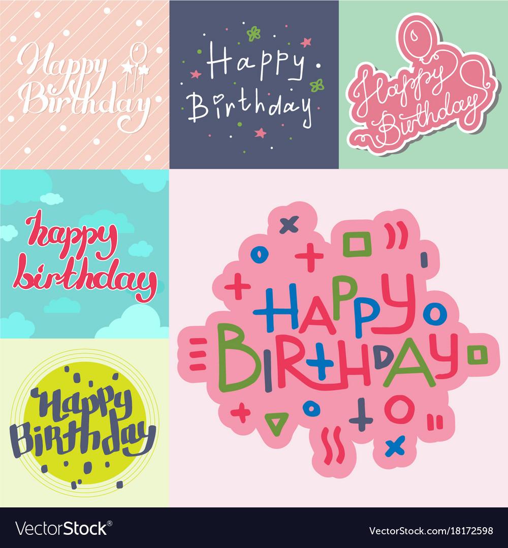 Beautiful birthday invitation card design colorful beautiful birthday invitation card design colorful vector image stopboris Gallery