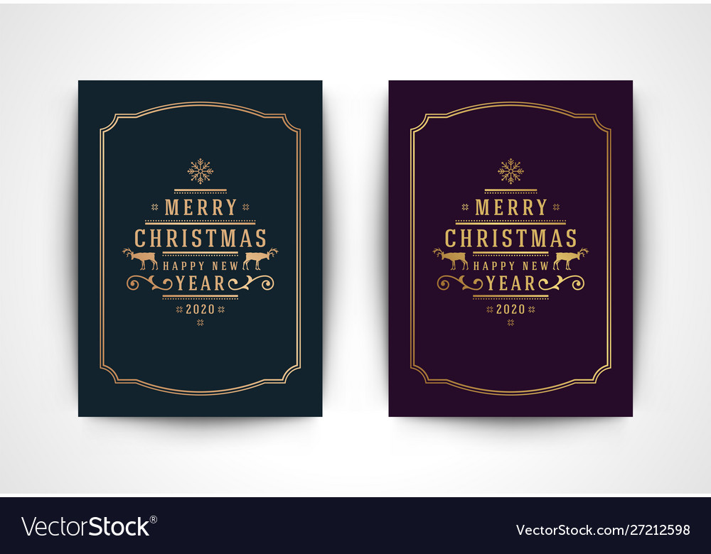 Christmas greeting card with snowflake silhouette