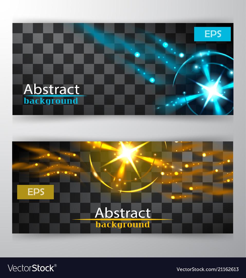 Bright lines abstract minimalistic web header