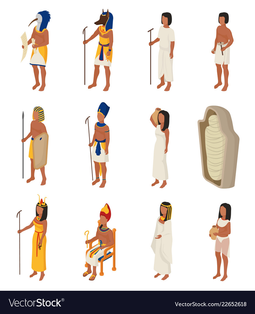 Egyptian ancient egypt people character