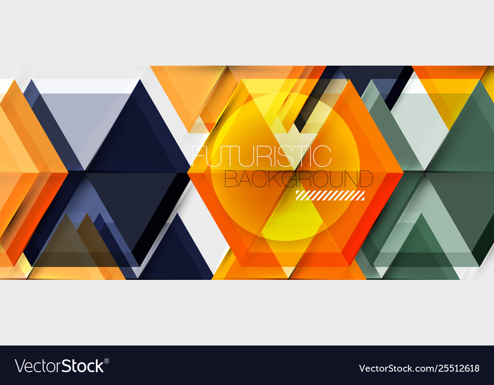 Hexagon abstract background geometrical modern