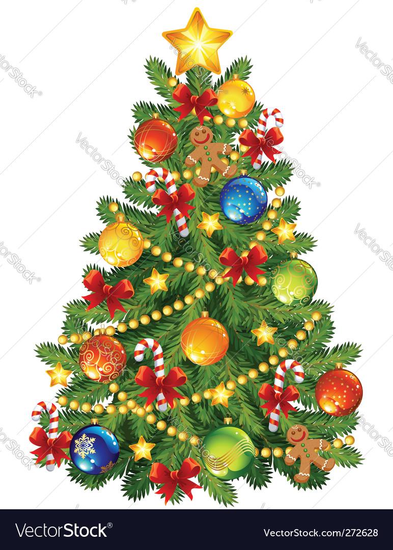 Christmas tree Royalty Free Vector