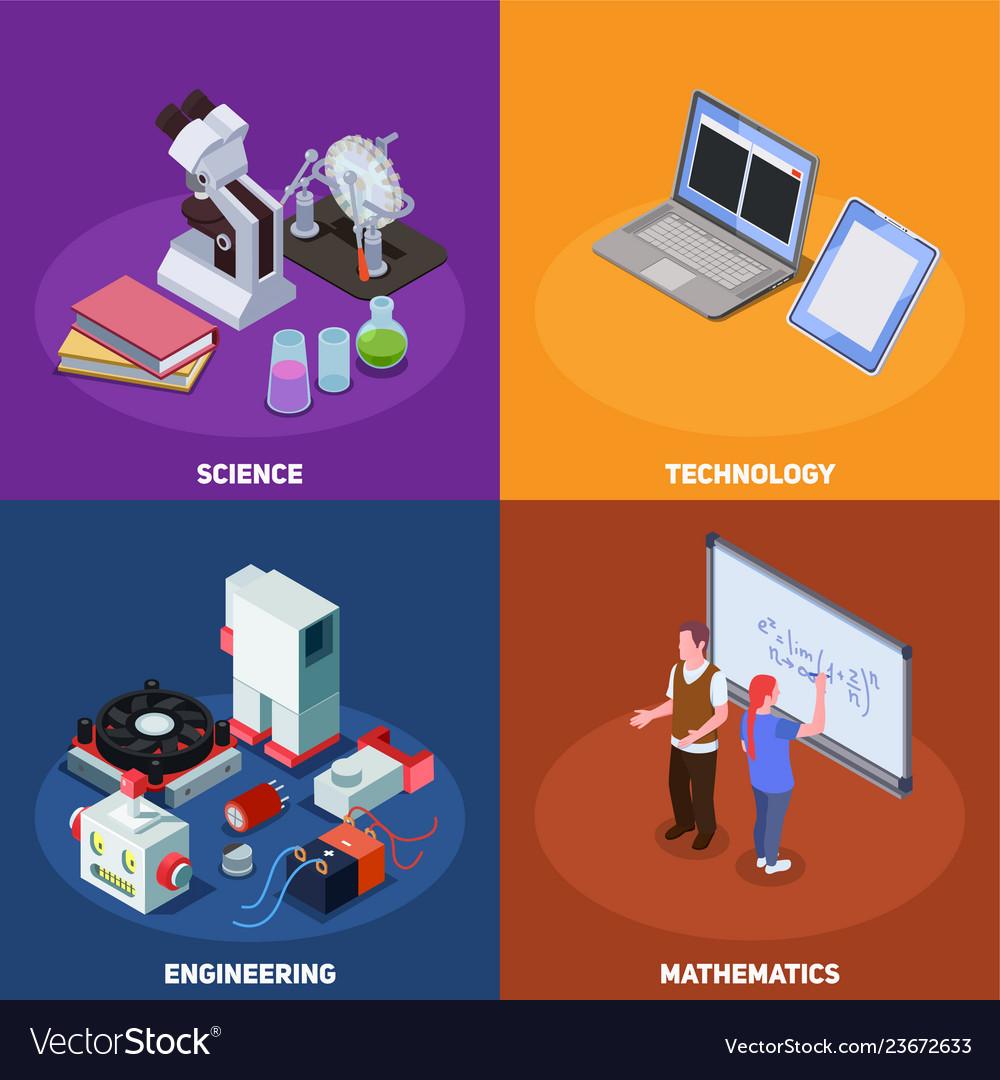 Stem education design concept