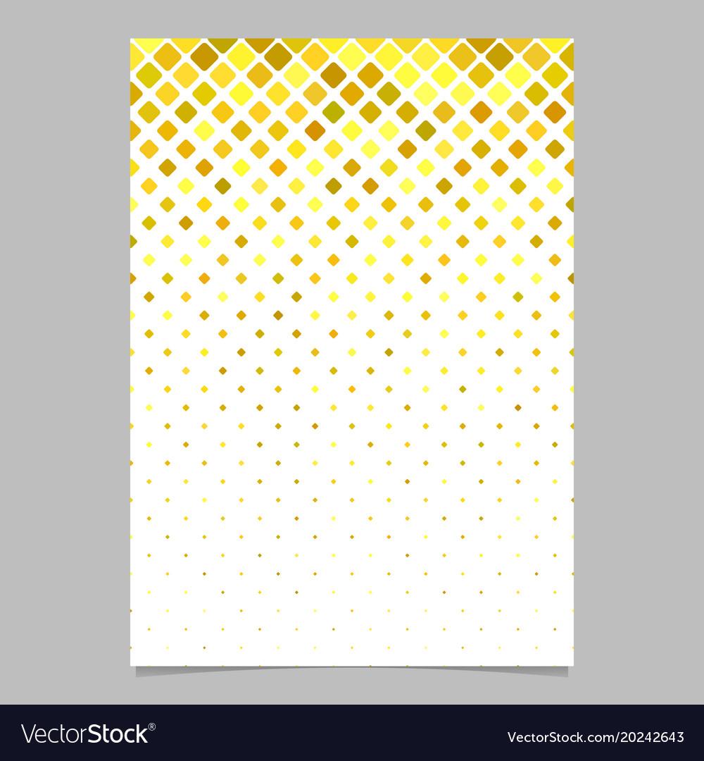 Abstract diagonal square mosaic pattern page