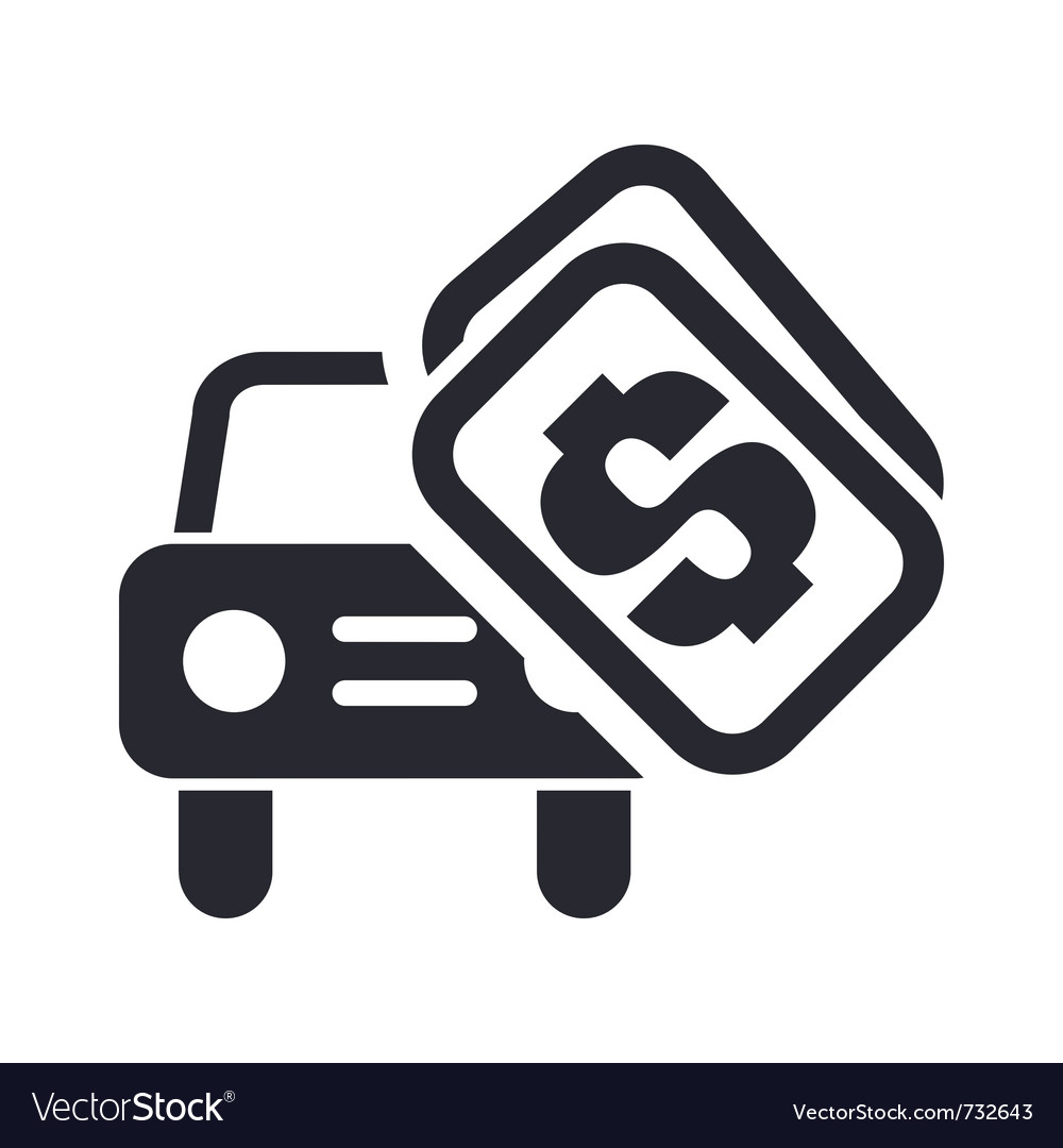 Car sale icon