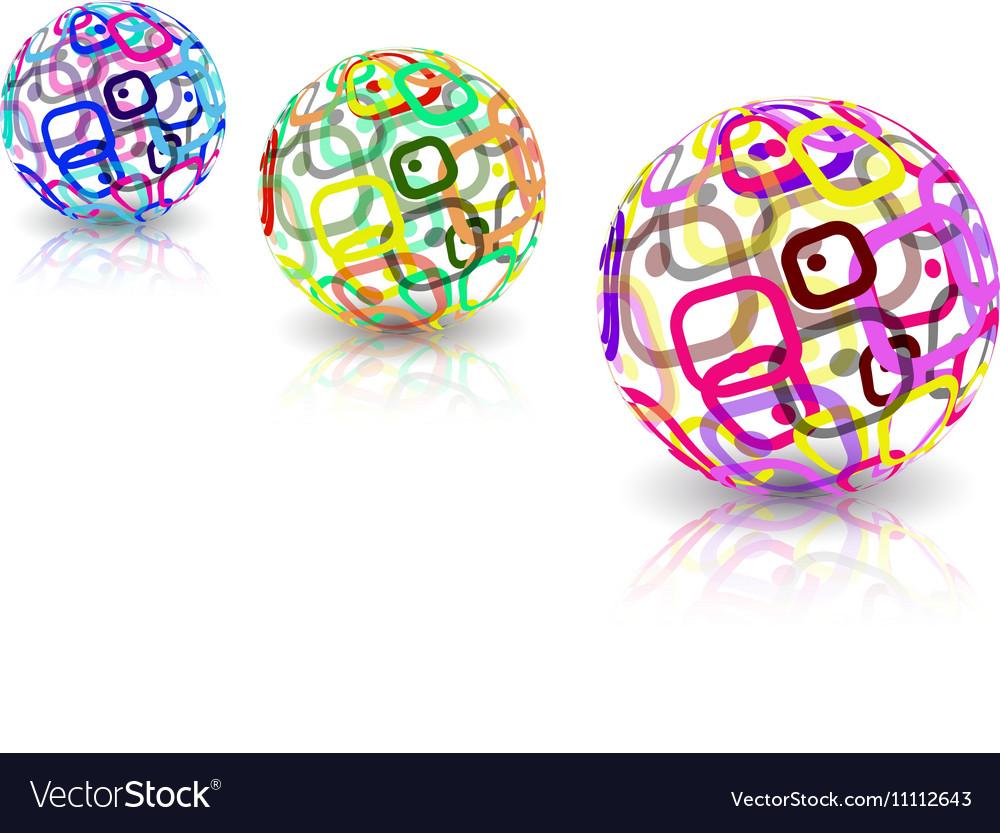 Logo design Sphere shape