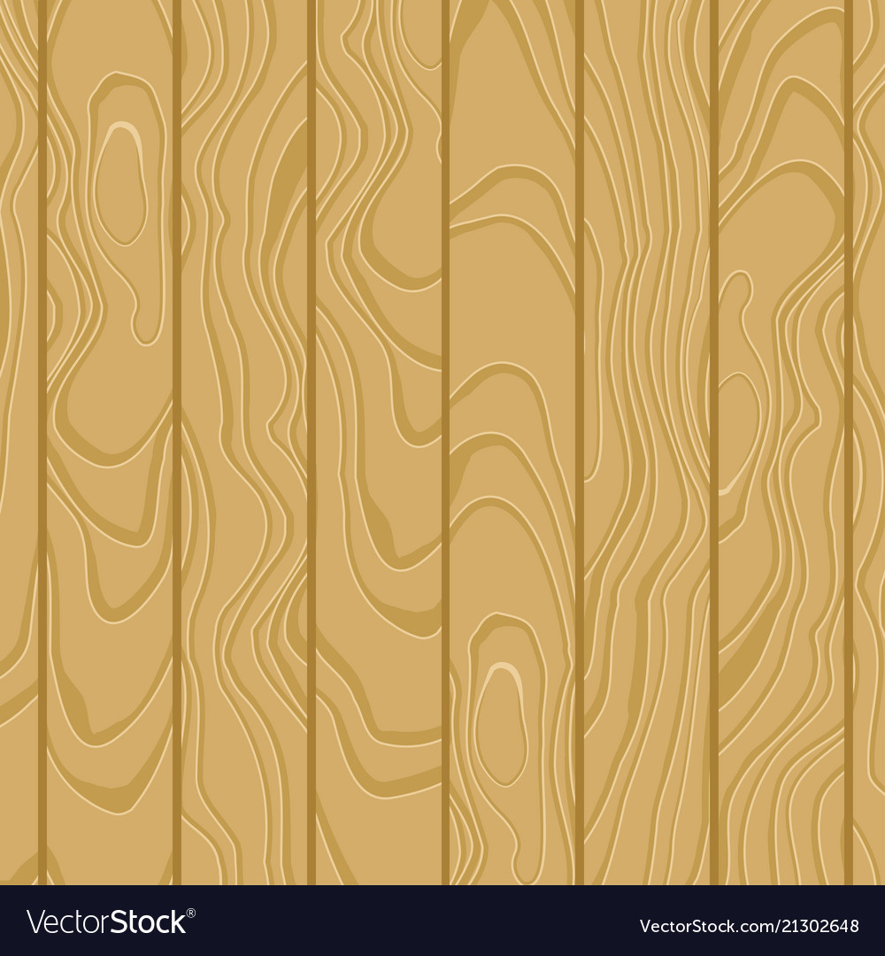 Cartoon wooden table background planks