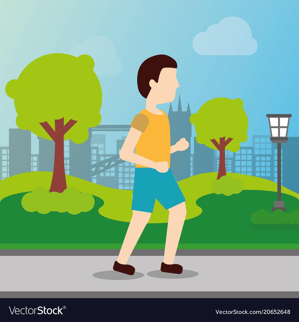 People sport activity