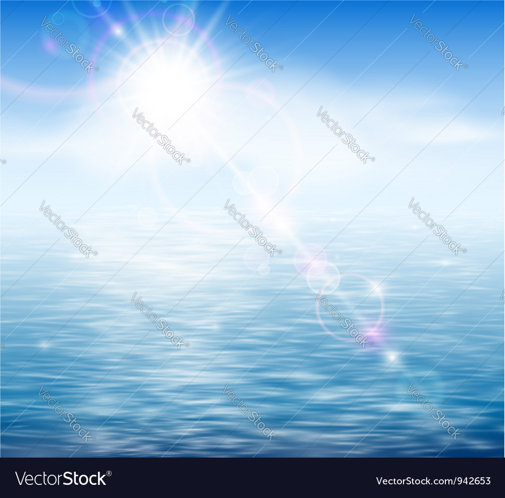 Sunshine sea