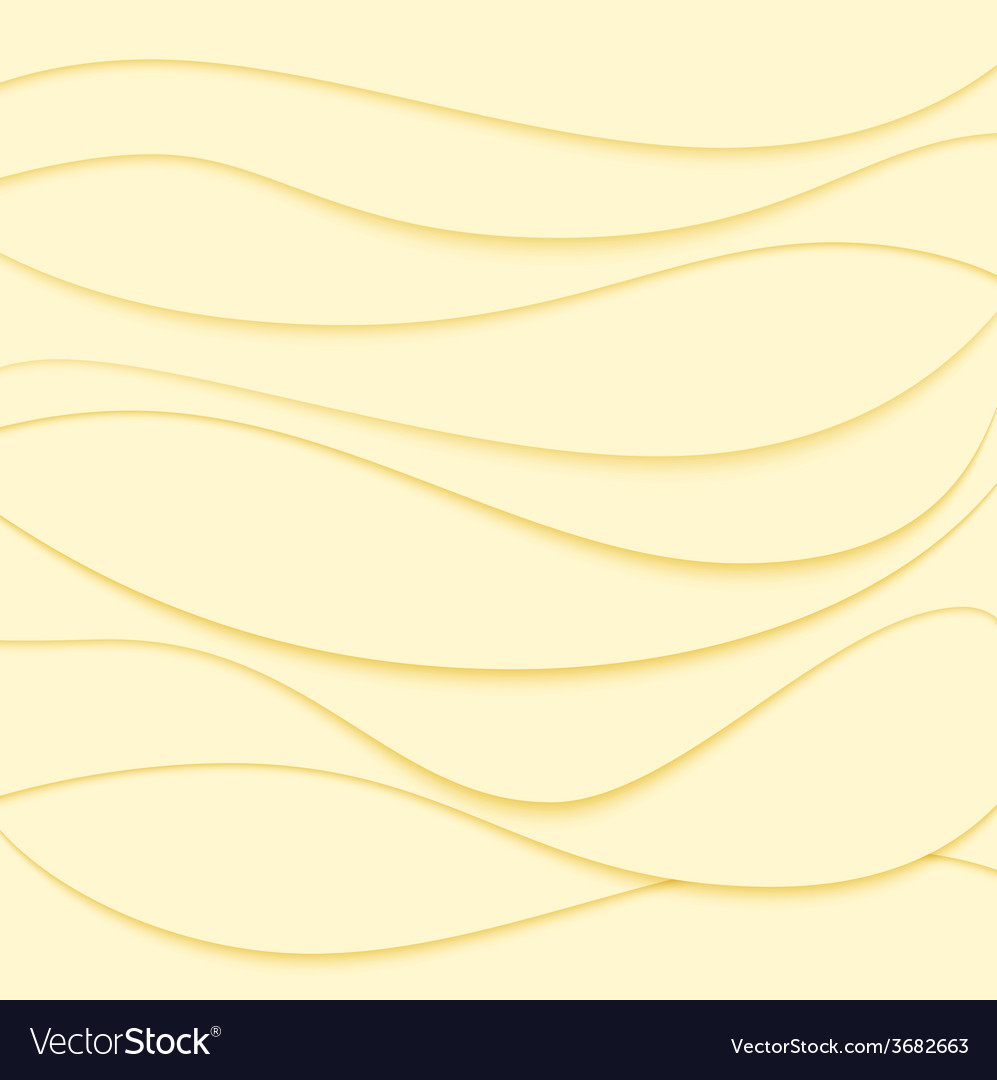 Abstract background Yellow waves
