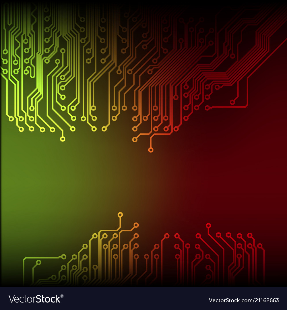 Abstract technology circuit board background
