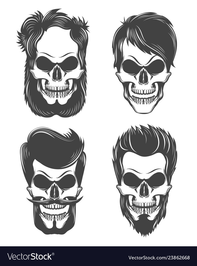 Different skull character set