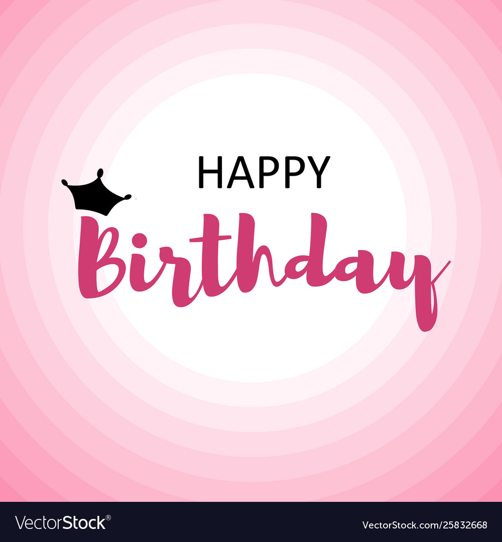 Happy Birthday Images For Men.Happy Birthday Card For Men On Pink Circles