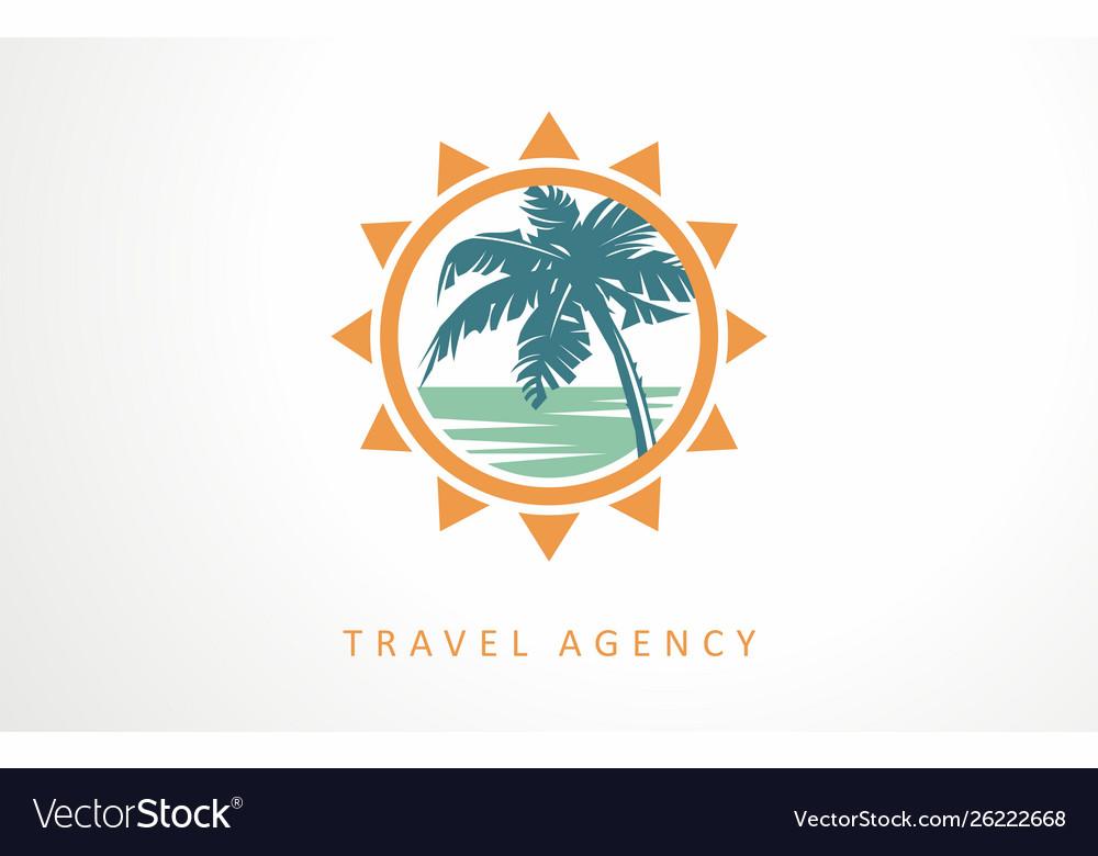 Travel vacation tour logo designs