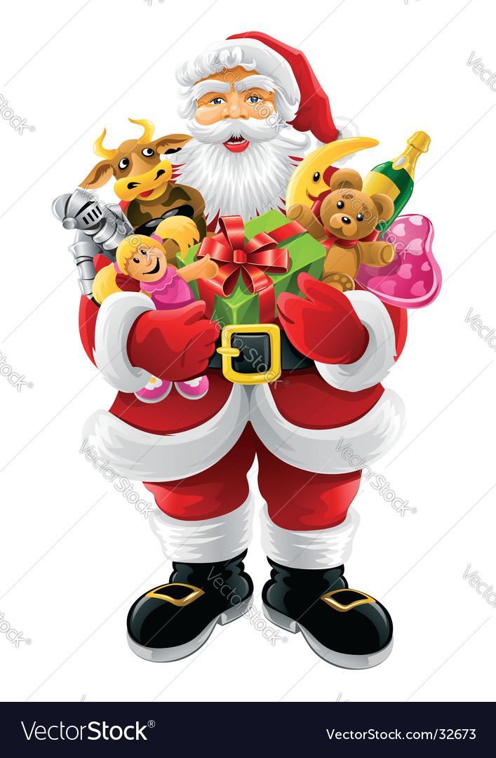 Christmas graphics vector image