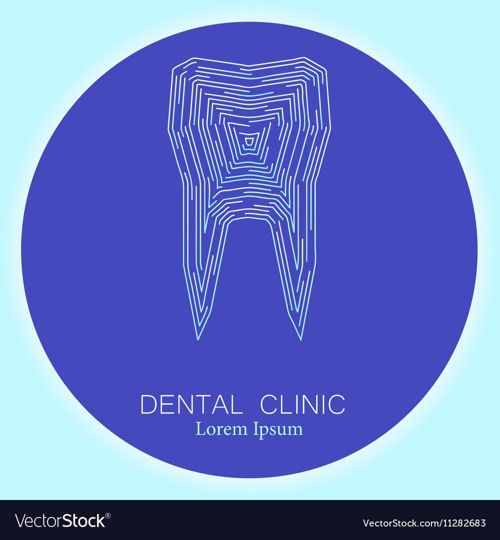 Dental clinic tooth logo