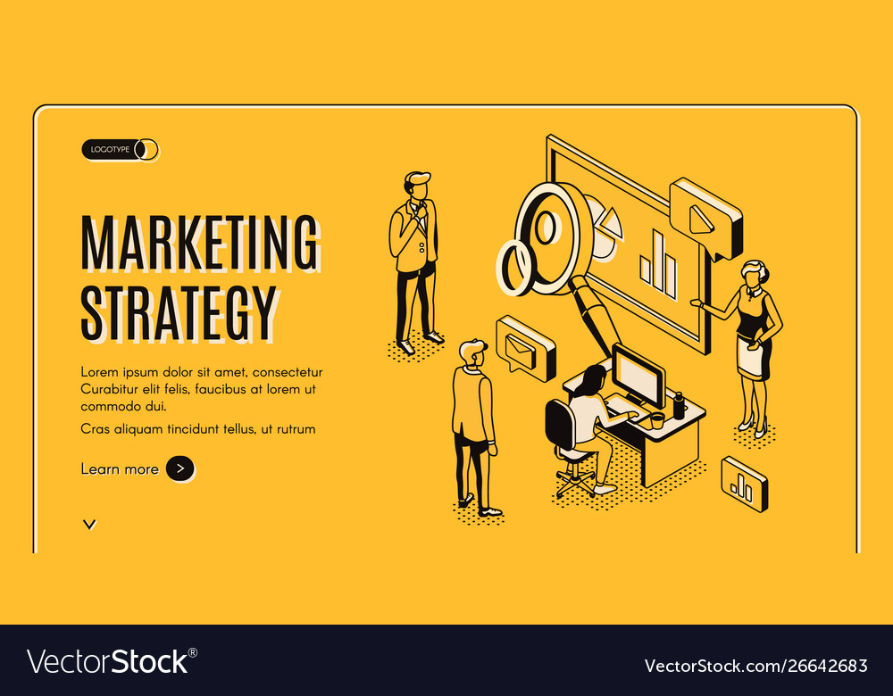 Marketing strategy financial analytic company