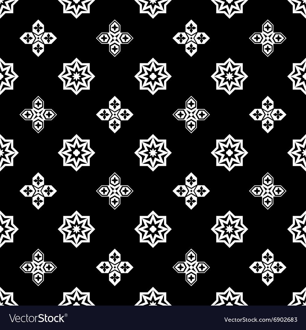 Ornamental islamic pattern vector image