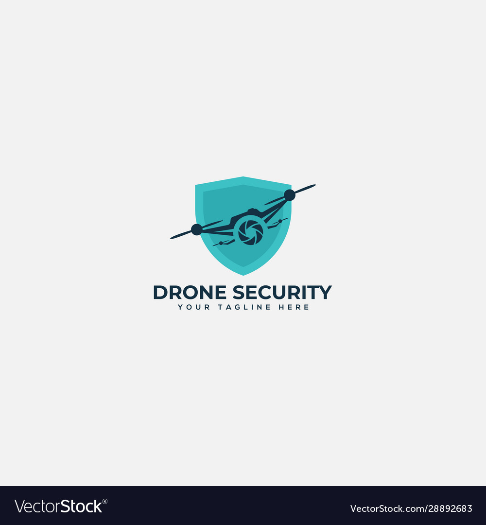 Safety drone security system logo