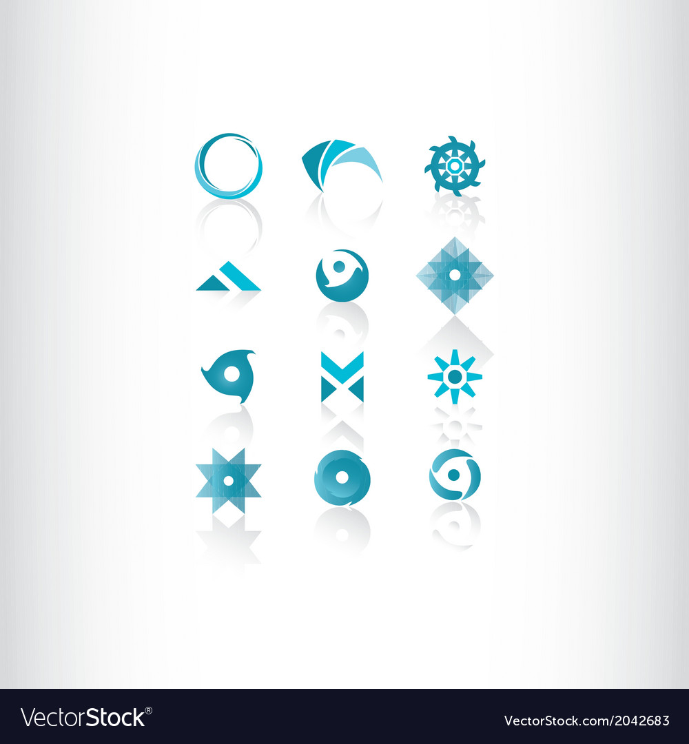 Symbol elements set for web design