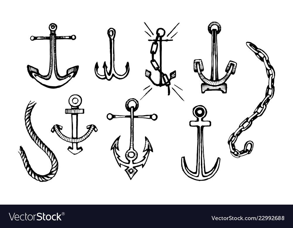 Sea anchor set