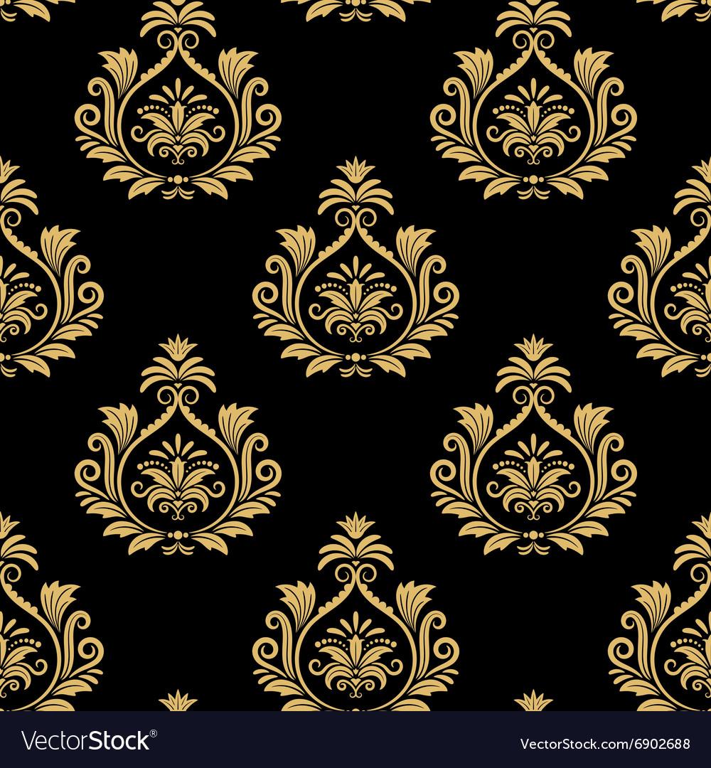 Seamless baroque background