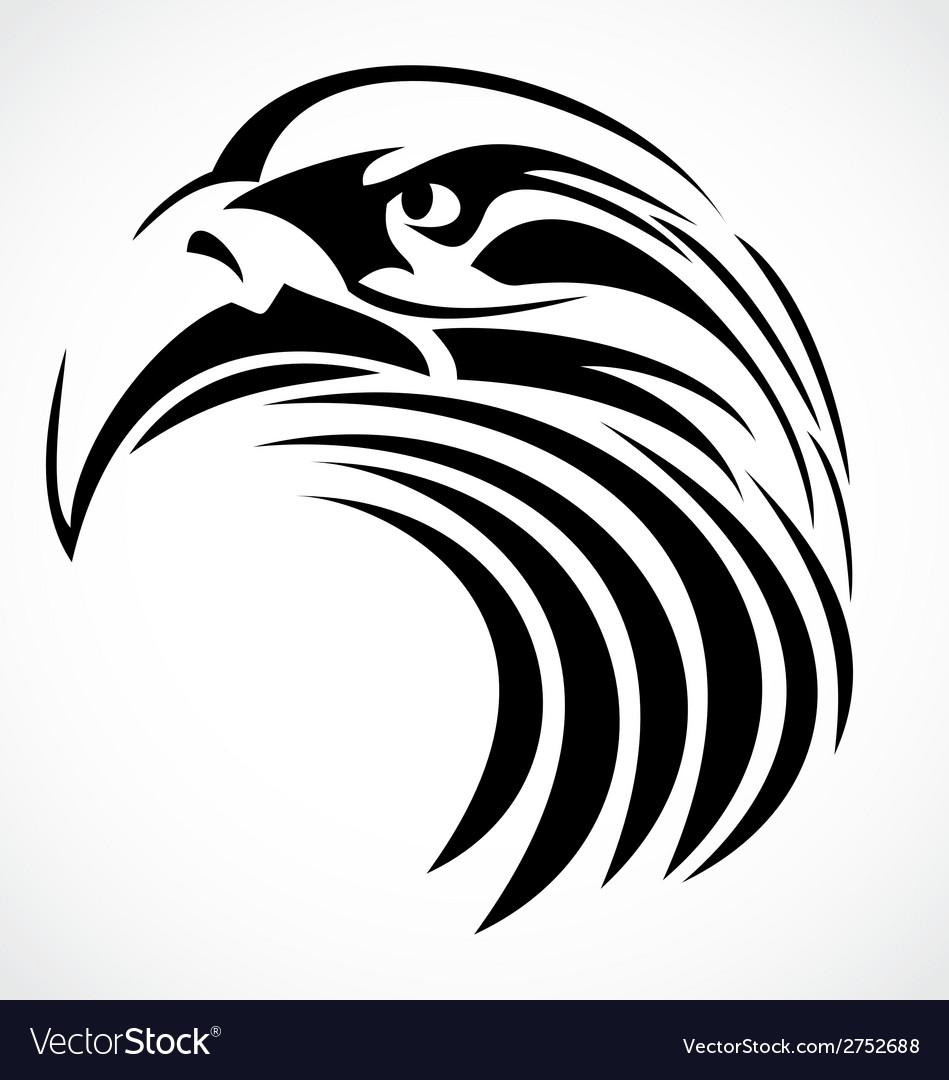 Tribal Eagle Head