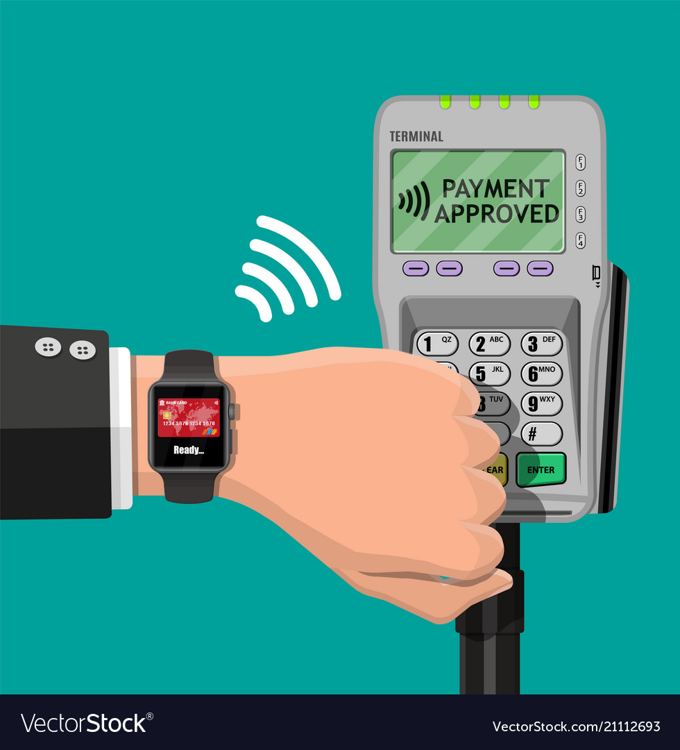 Smart watch contactless payments