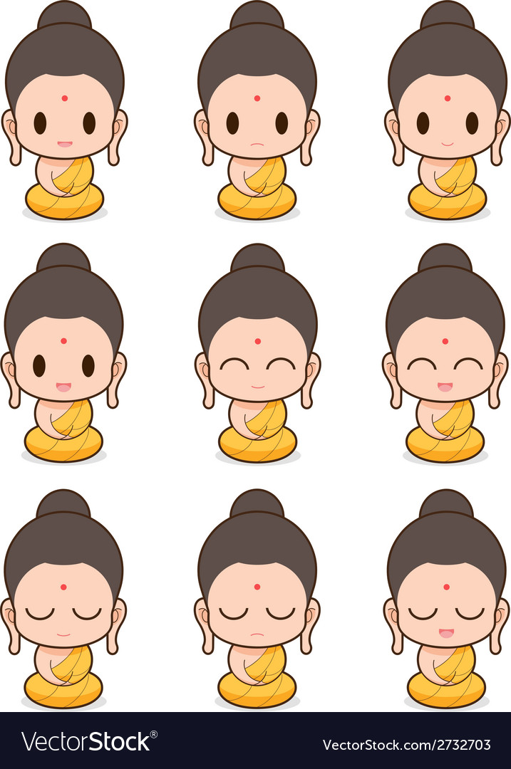 buddha royalty free vector image vectorstock rh vectorstock com buddha vector art buddha vector free download