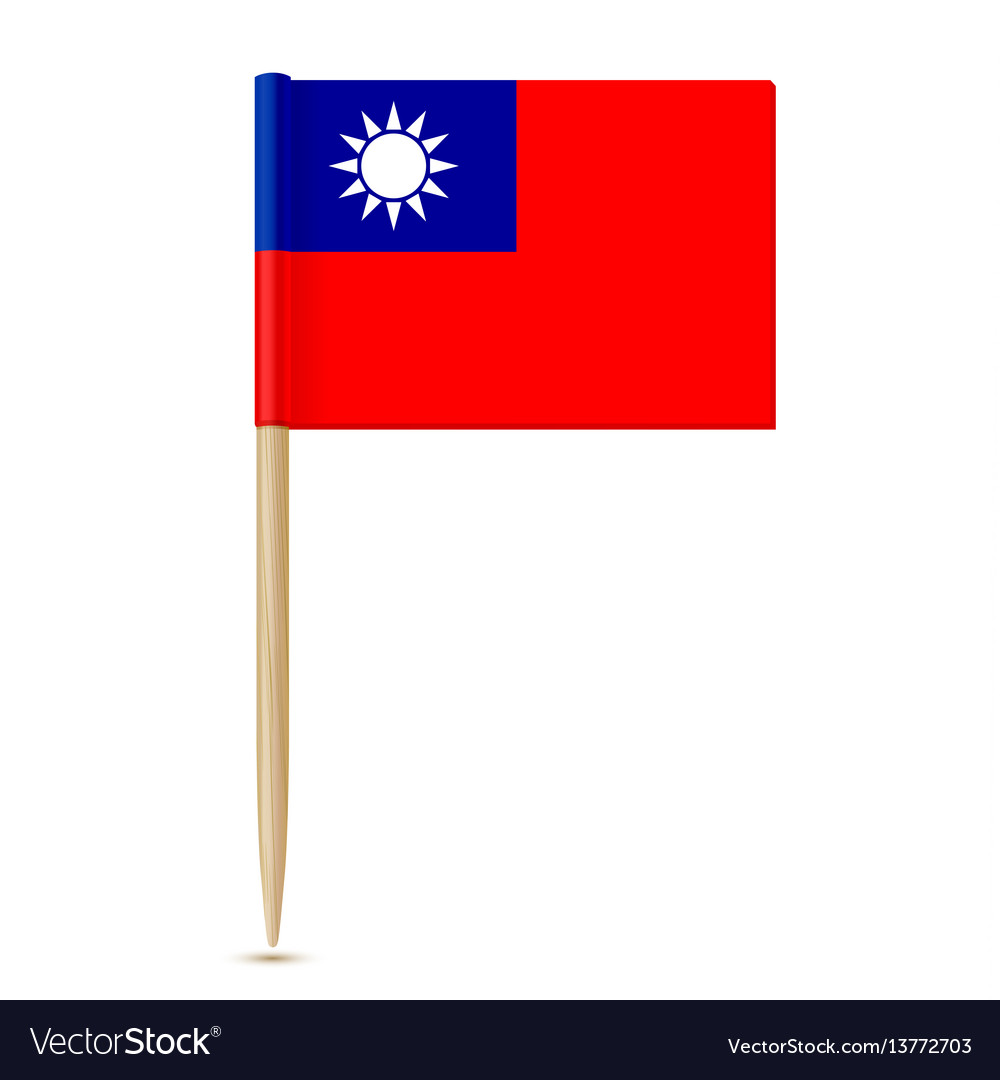 Republic of china flag toothpick