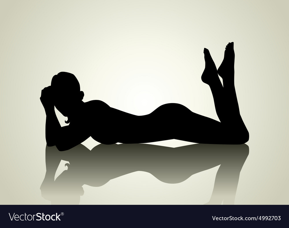 Sexy Pose vector image
