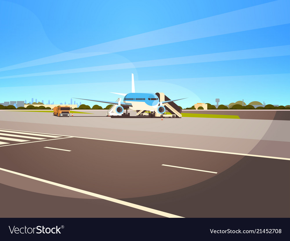 Airport terminal aircraft flying plane taking off