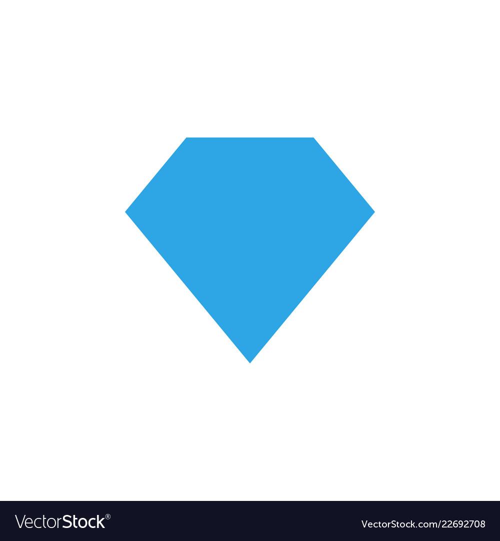 diamond shape graphic design template royalty free vector