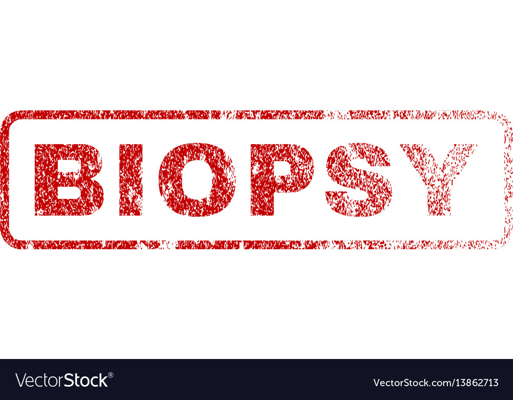 Biopsy rubber stamp