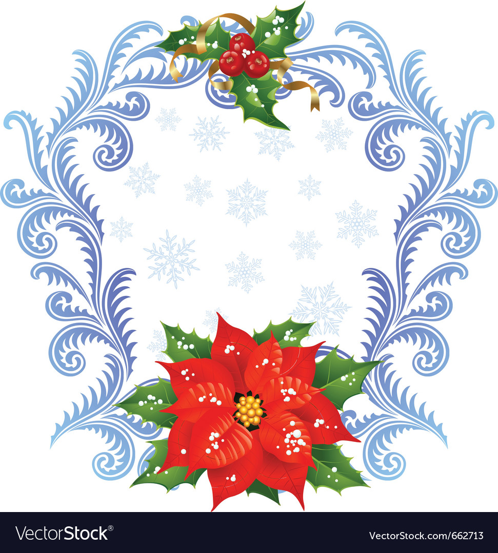 Christmas and new year greeting card 5 Royalty Free Vector