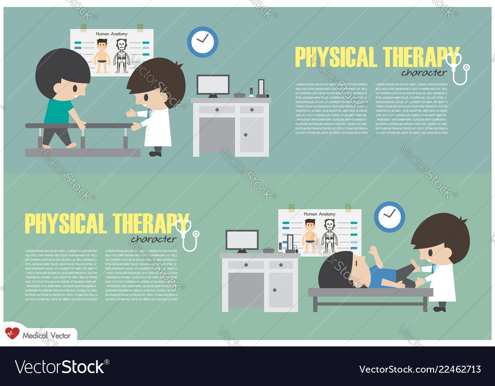 Physical therapy center physiotherapist