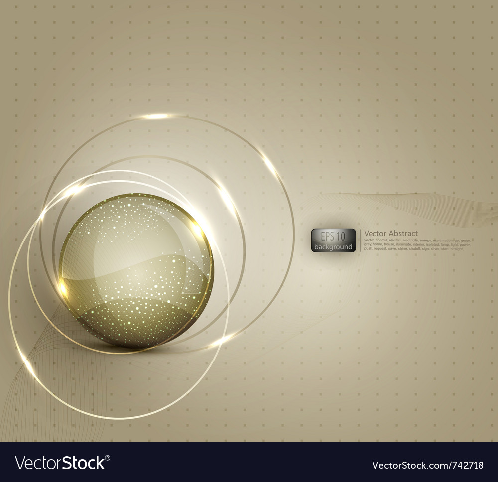 Abstract background for a business with a glass ba