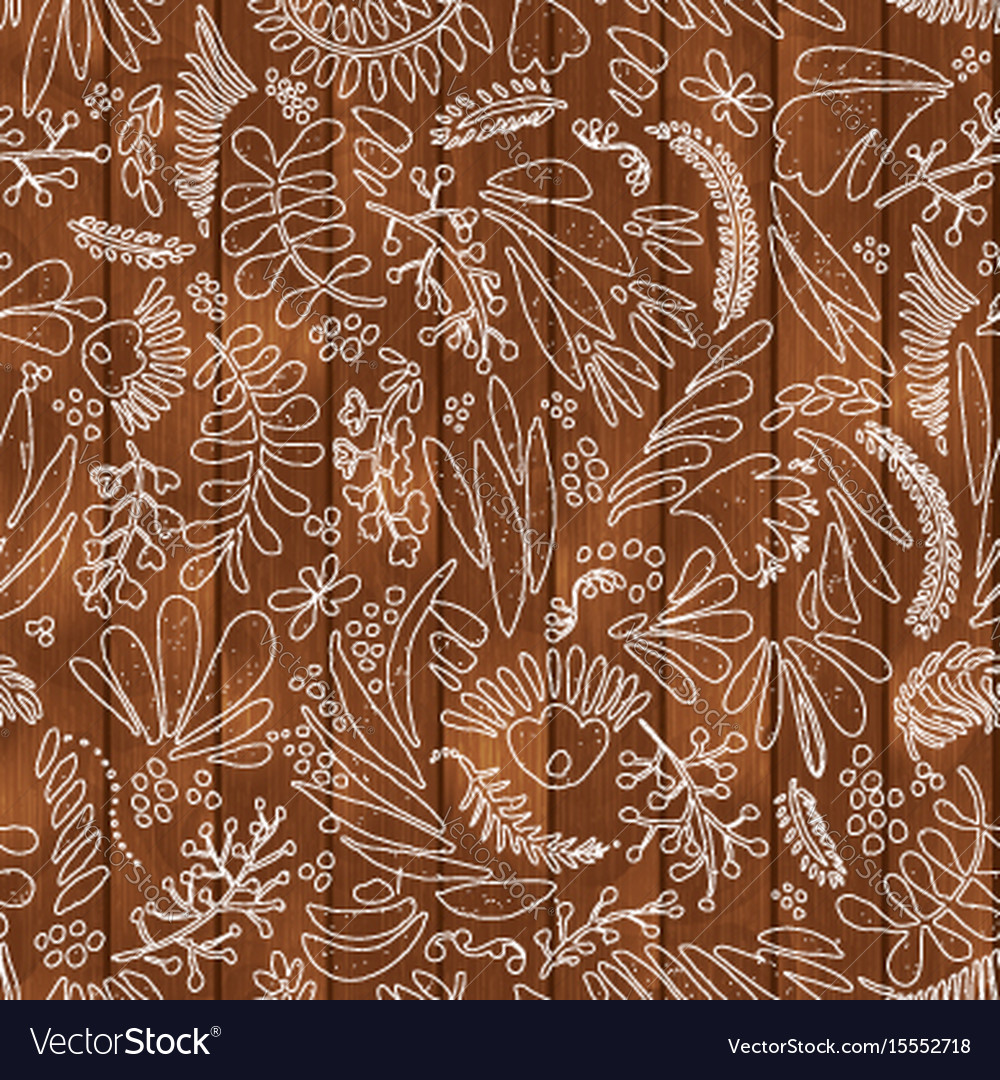 Floral and flower seamless pattern on
