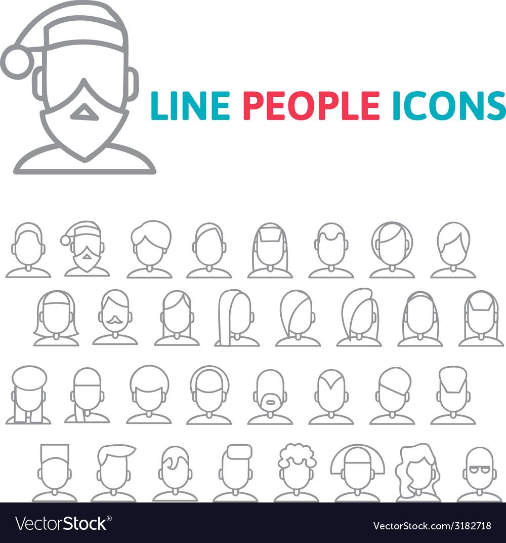 Set user line icons