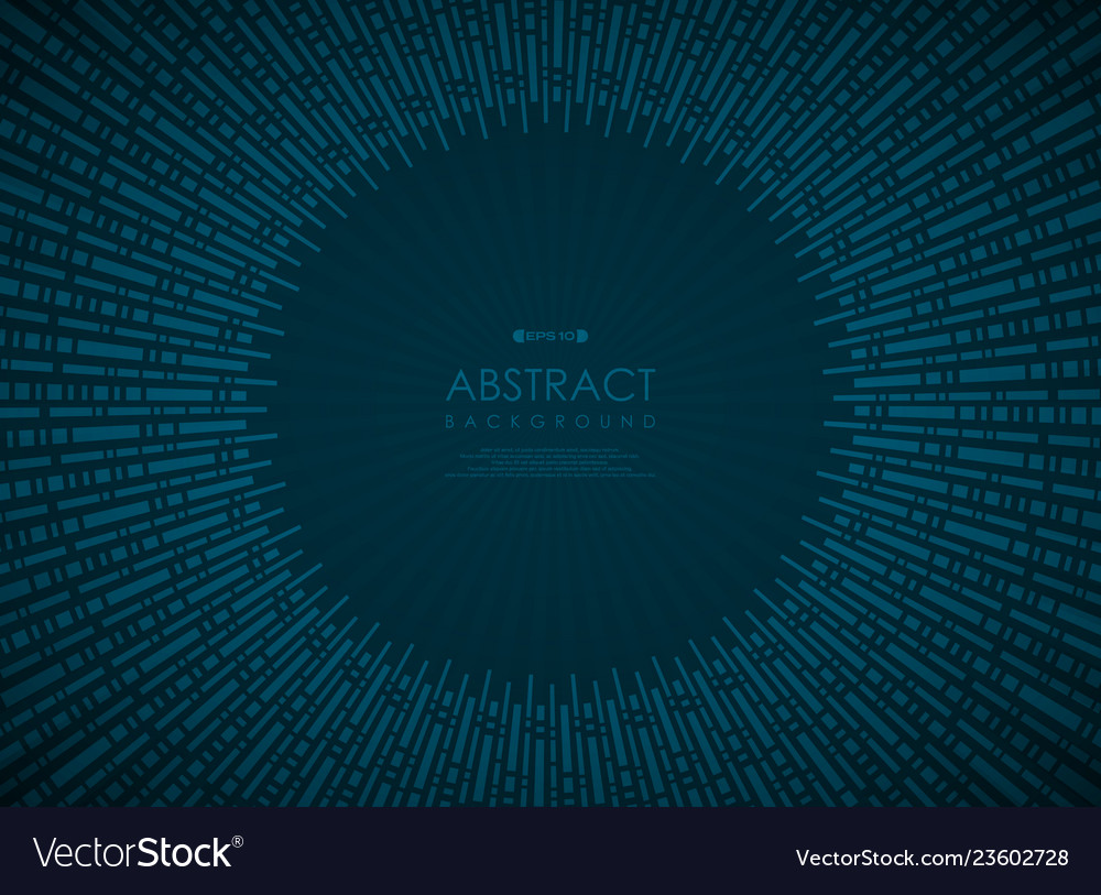 Abstract technology circle blue gradient