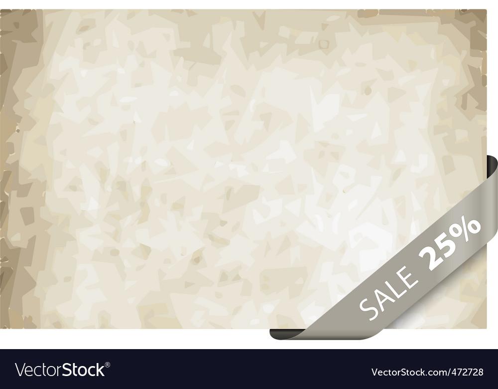 Sale tag 25 percentage