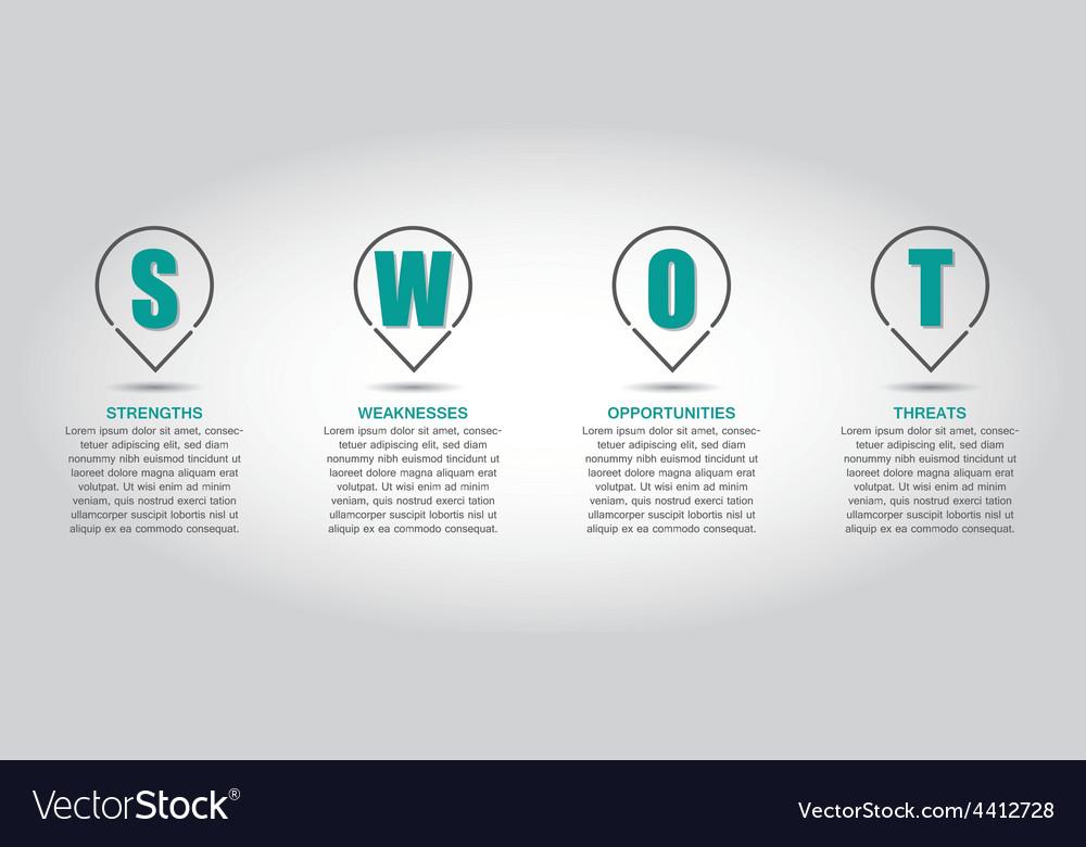 SWOT02 vector image