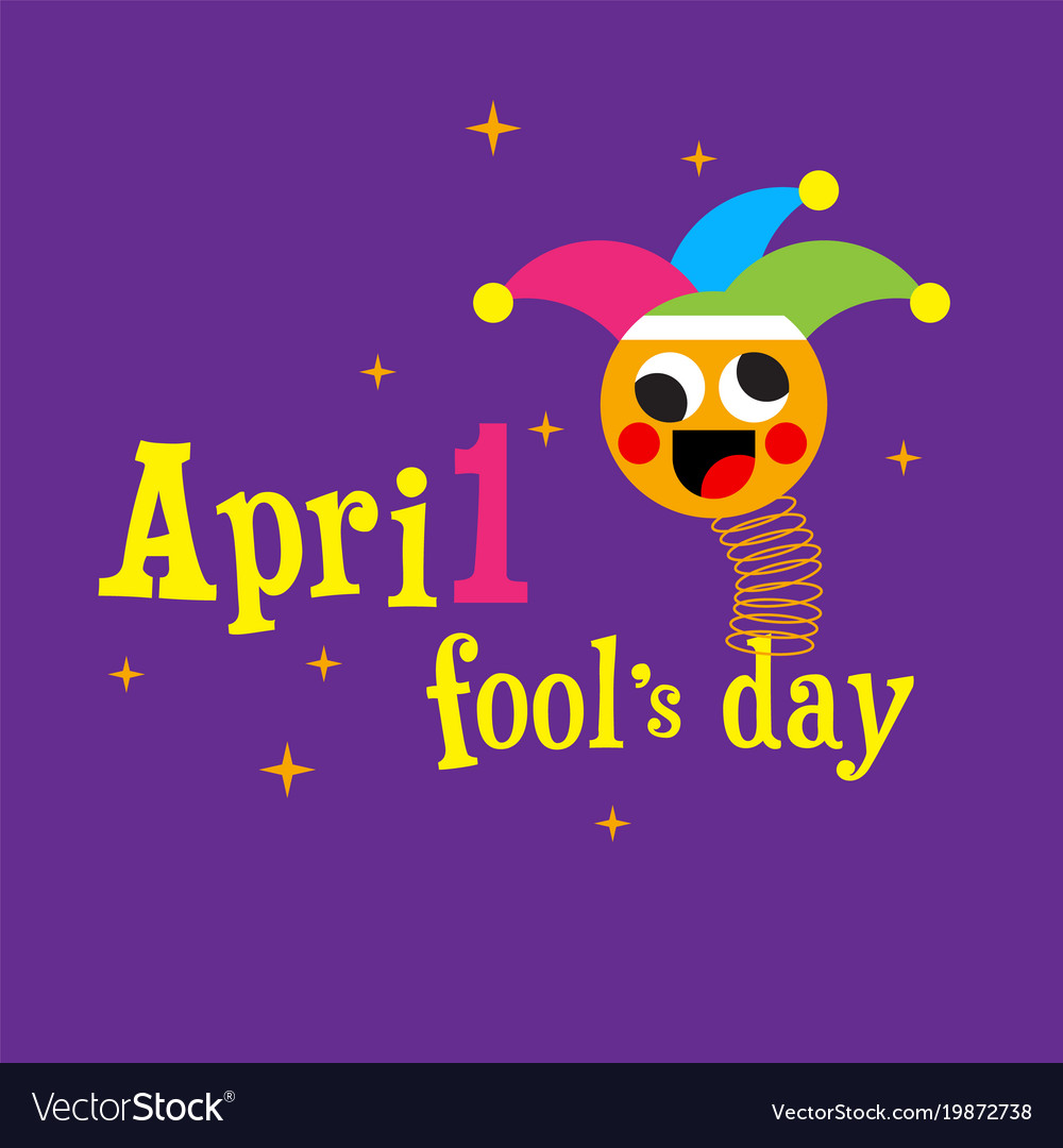 April fools day jester hat silly glasses and must