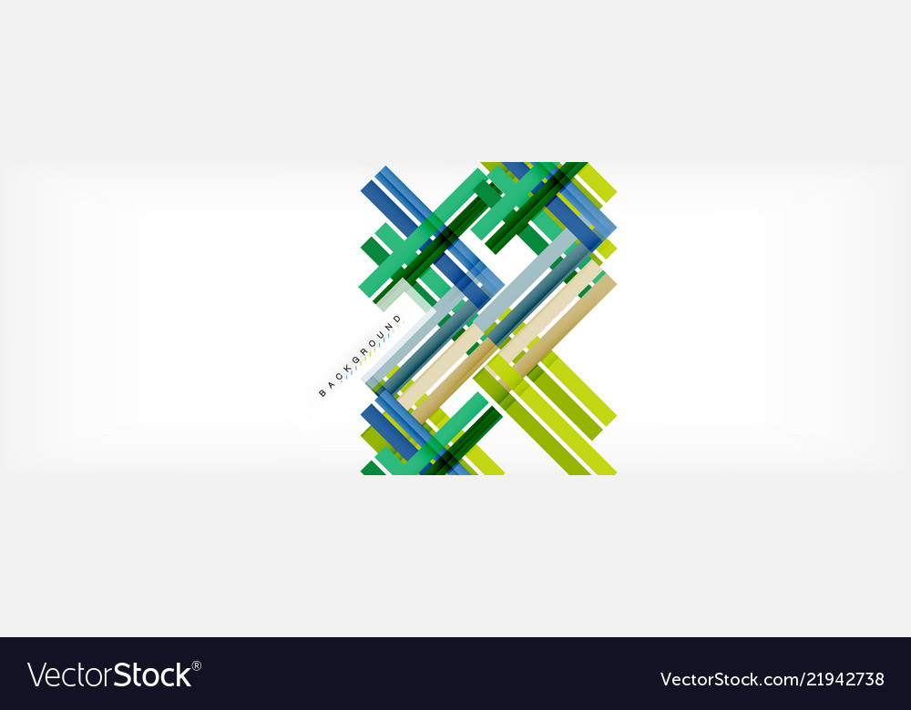 Color stripes and lines geometric abstract