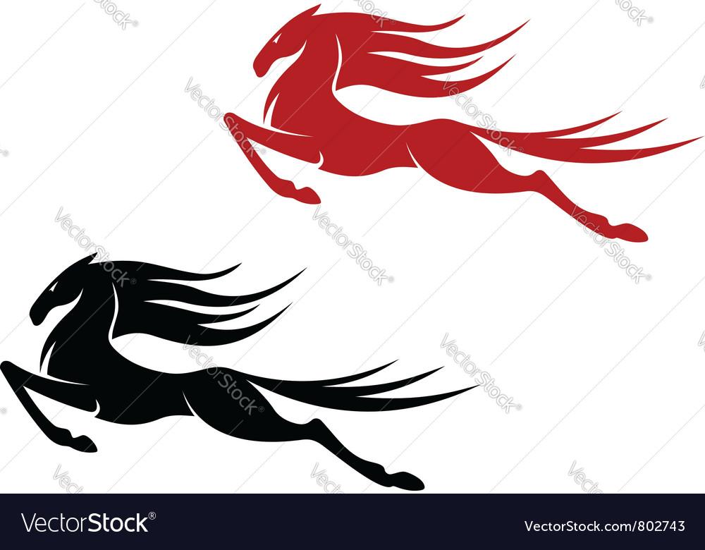 Equestrian sports logo