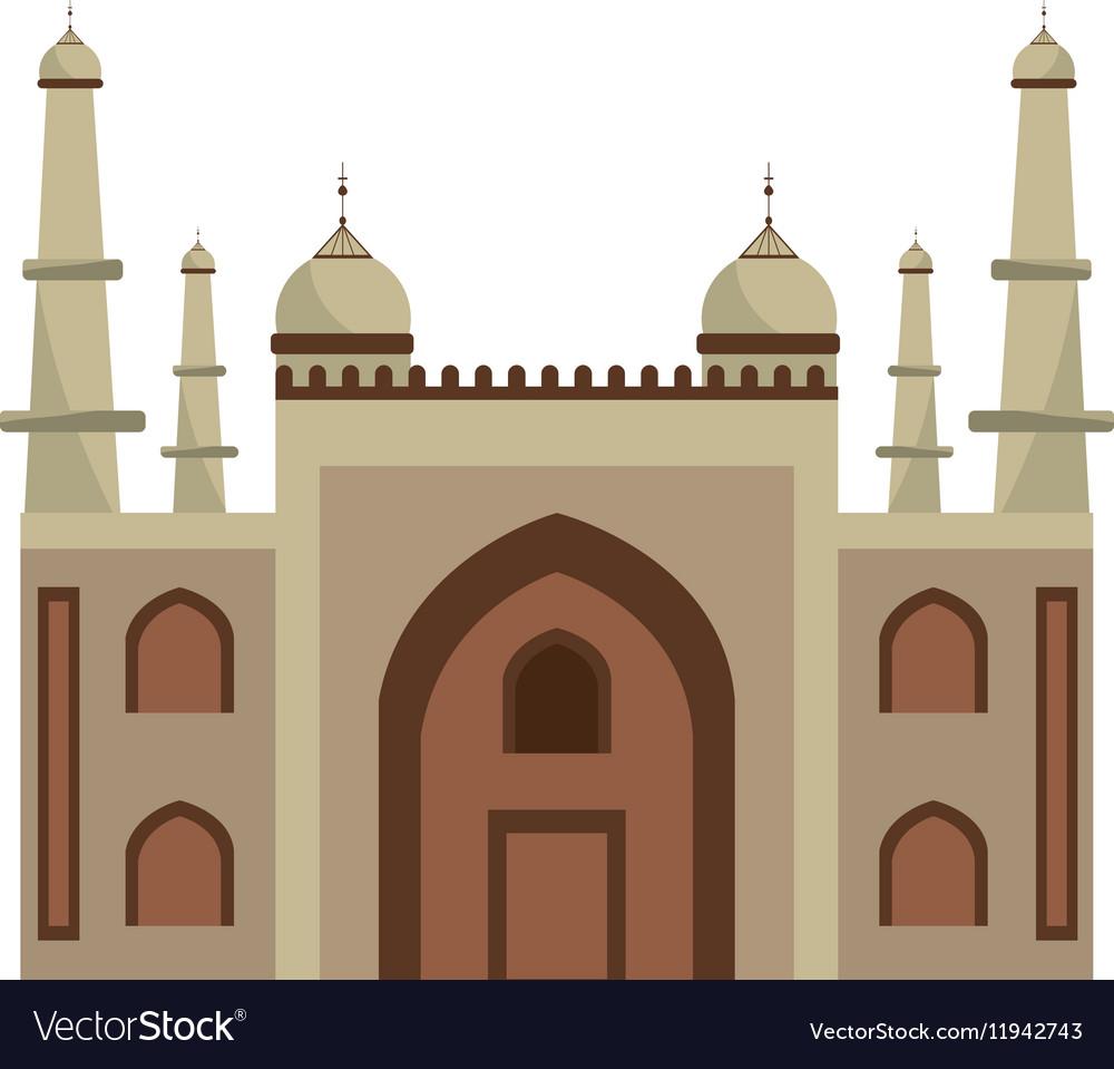 Mysore palace india vector image