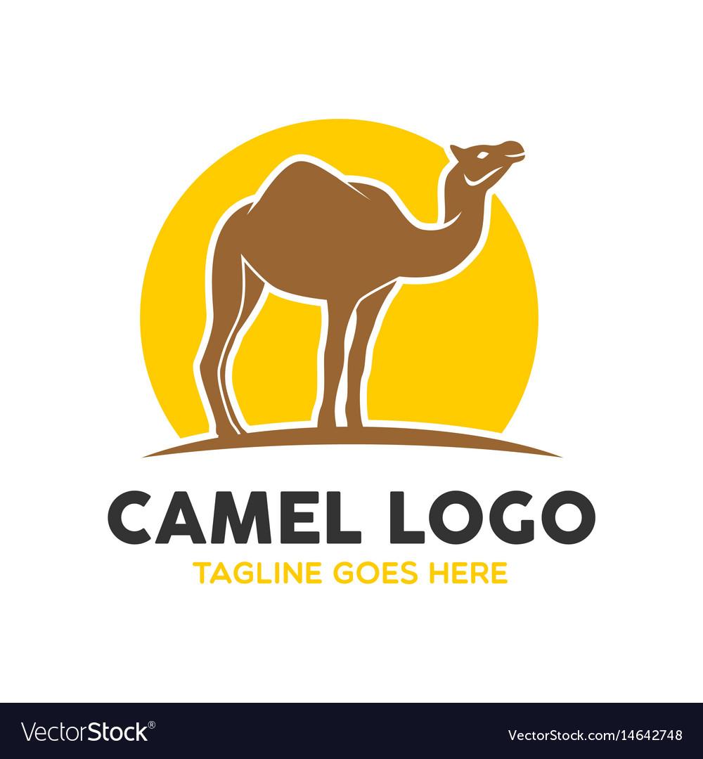 839c6a7f4 Camel logo-2 Royalty Free Vector Image - VectorStock