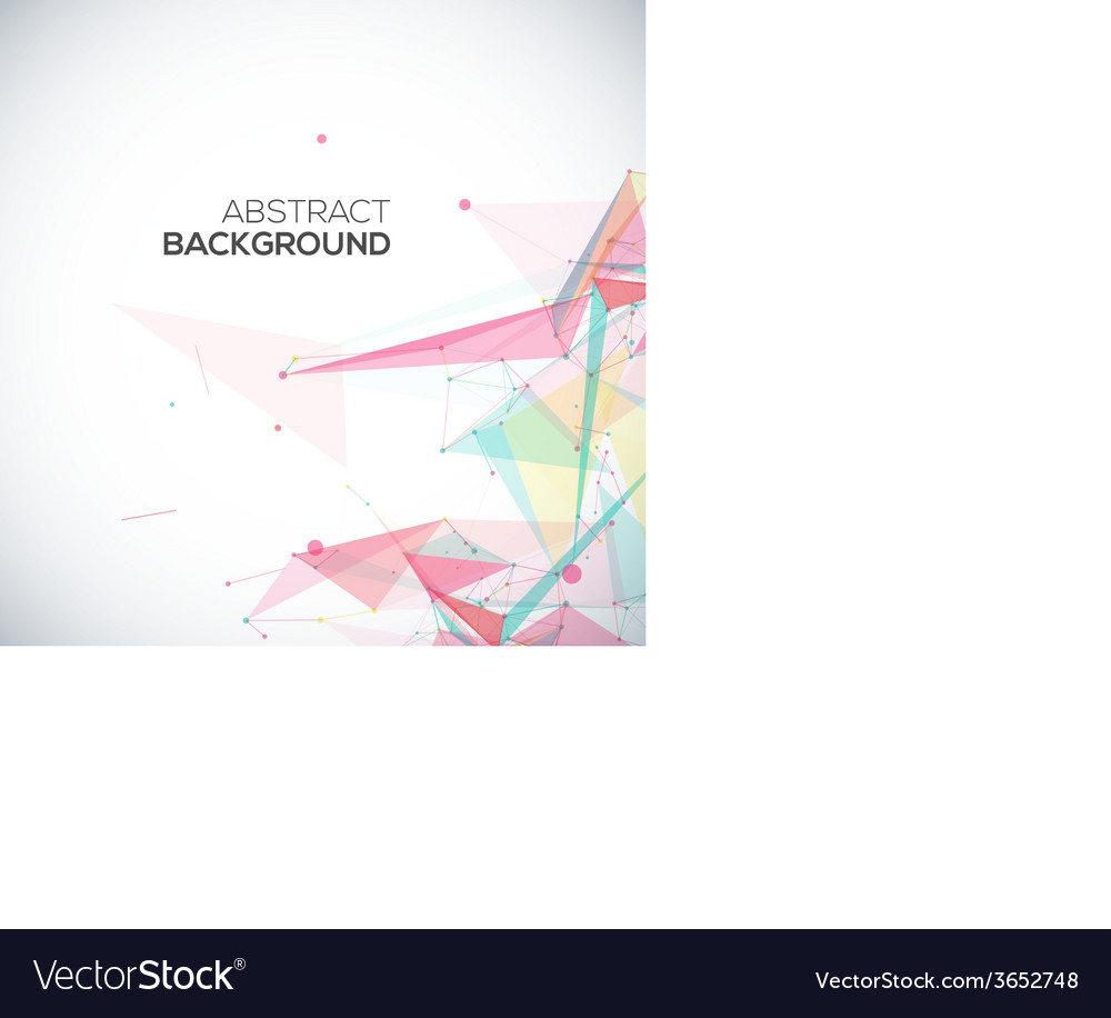 Geometric background with polygonal abstract