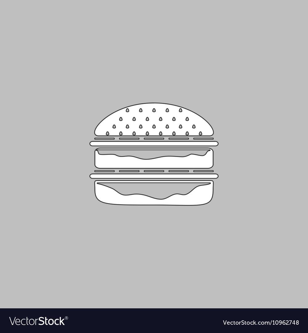 Hamburger computer symbol