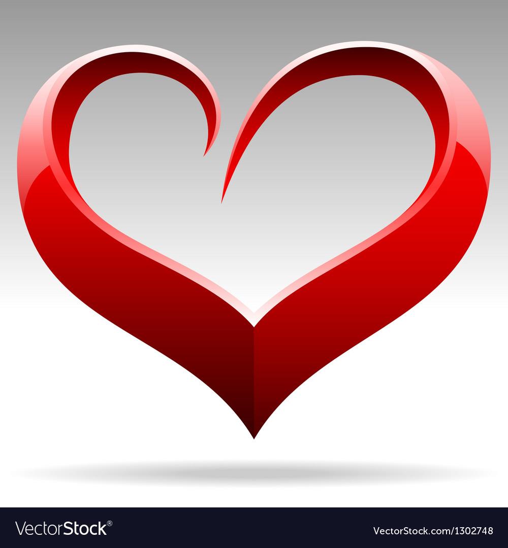 Heart shape sign
